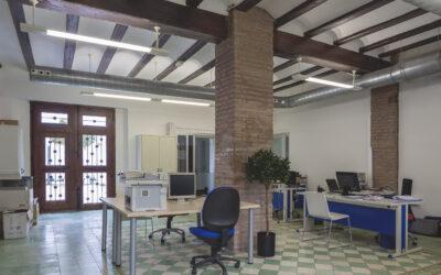 Rehabilitación para instalación de oficinas