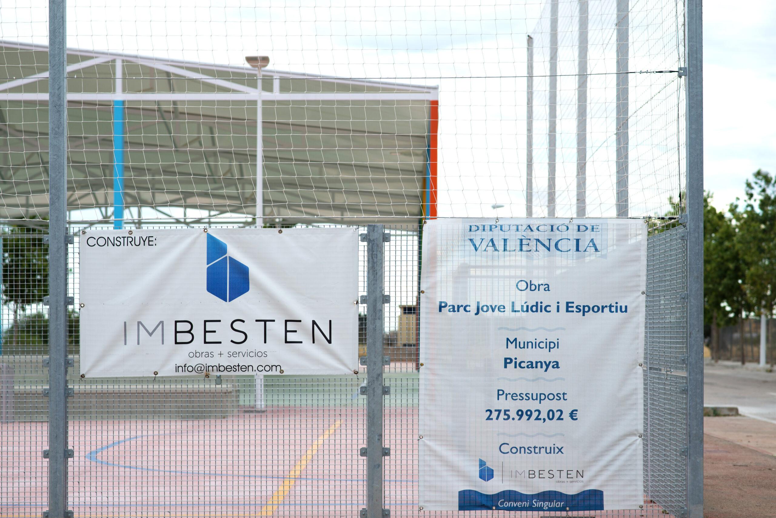 Construcción parque deportivo Imbesten