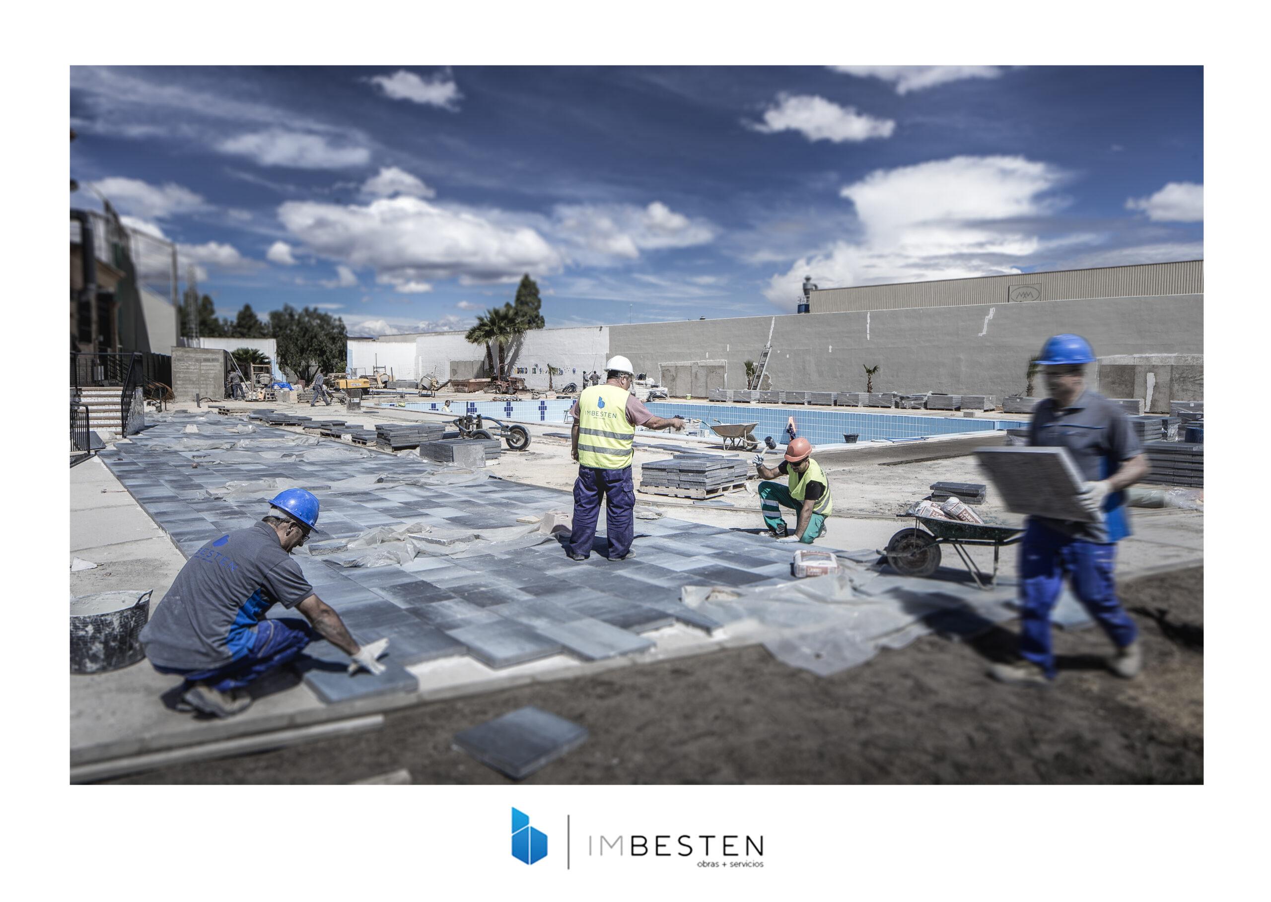 Pavimentación Piscina Imbesten