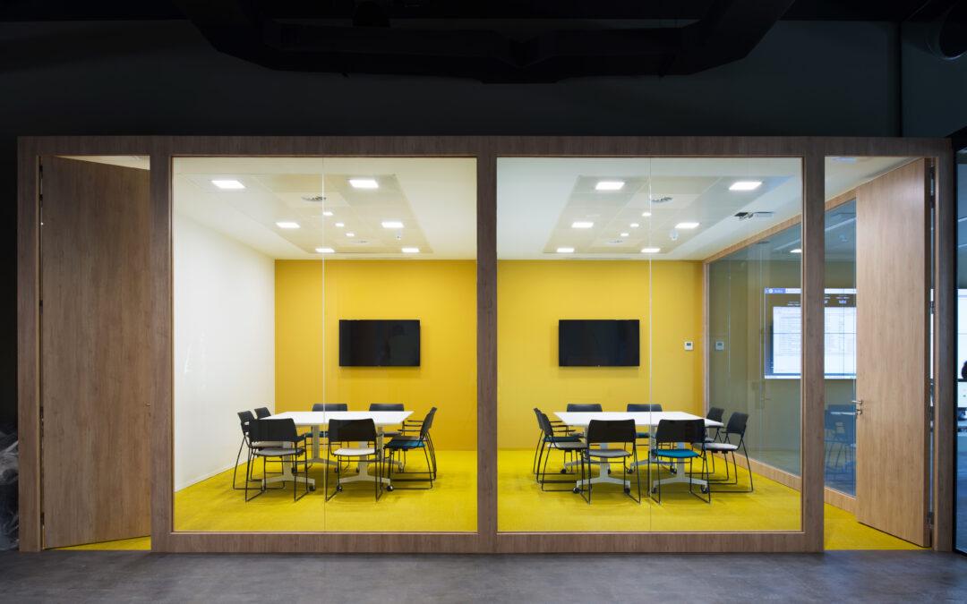 Reforma de oficinas para el primer Dinapsis Operation & Lab de España