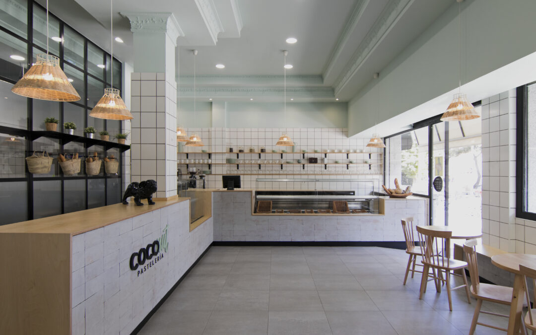 Reforma de local para pastelería COCOnut
