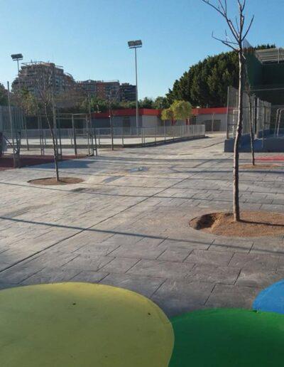 Rehabilitación de las pistas deportivas de la Canaleta.