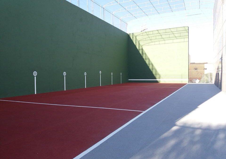 Rehabilitación de las pistas deportivas de La Canaleta en Mislata
