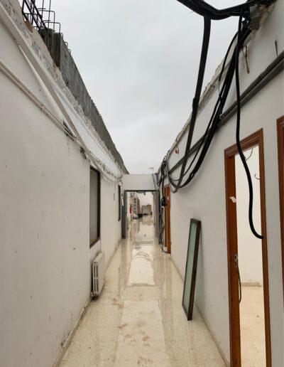 Sustitucion de cubierta en Escuela de Capataces de Valencia